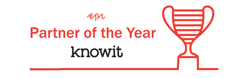 Knowit kåret til Epi Partner of the Year for 2017